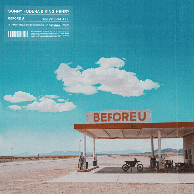 Before U (feat. AlunaGeorge)