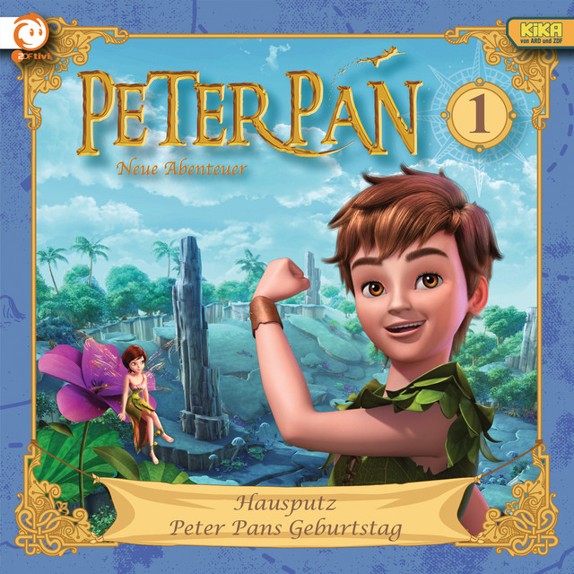 01: Hausputz  -  Peter Pans Geburtstag Cover