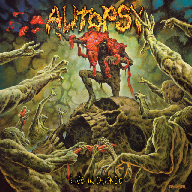 Artwork for Twisted Mass of Burnt Decay - Live In Chicago by Autopsy