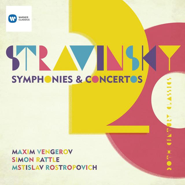 Stravinsky: Symphony in Three Movements; Violin Concerto; Symphonies of Wind Instruments; Capriccio for piano & orchestra; Pulcinella etc