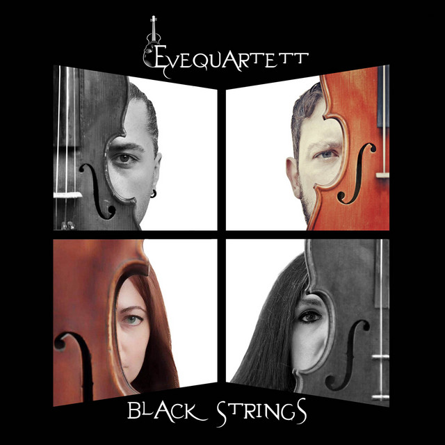 Artwork for Eleanor Rigby / Paint It Black / Please Please Me / Satisfaction by EVEQUARTETT