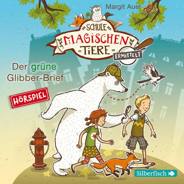 Der grüne Glibber-Brief Cover