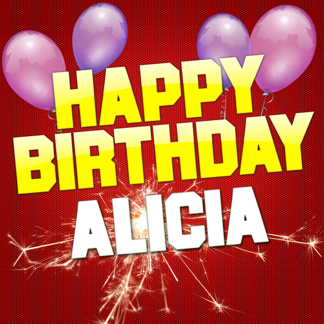 Happy Birthday Alicia (Rock Version), A Song By White Cats