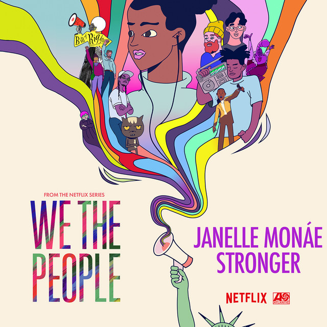 Stronger (from the Netflix Series W album cover