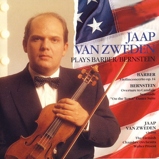 Barber & Bernstein: Jaap van Zweden plays Barber / Bernstein