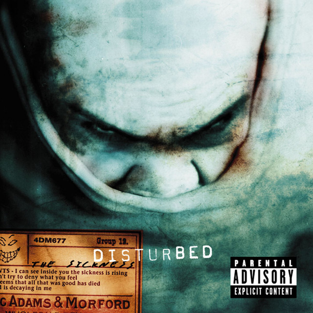 Down With The Sickness album cover
