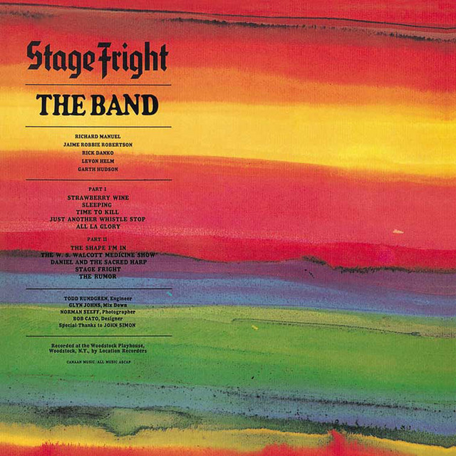 The Band  Stage Fright :Replay