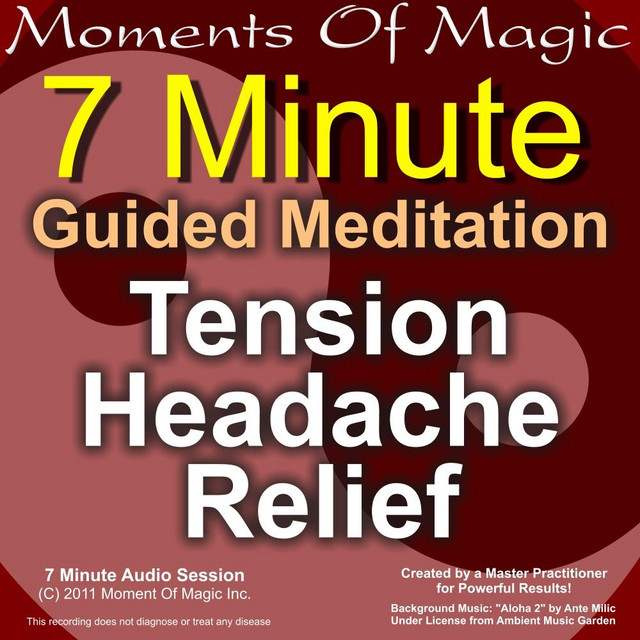 7 Minute Guided Meditation - Tension Headache Relief