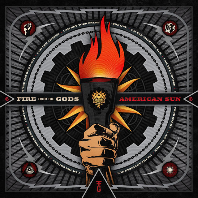 Album cover for American Sun by Fire From The Gods