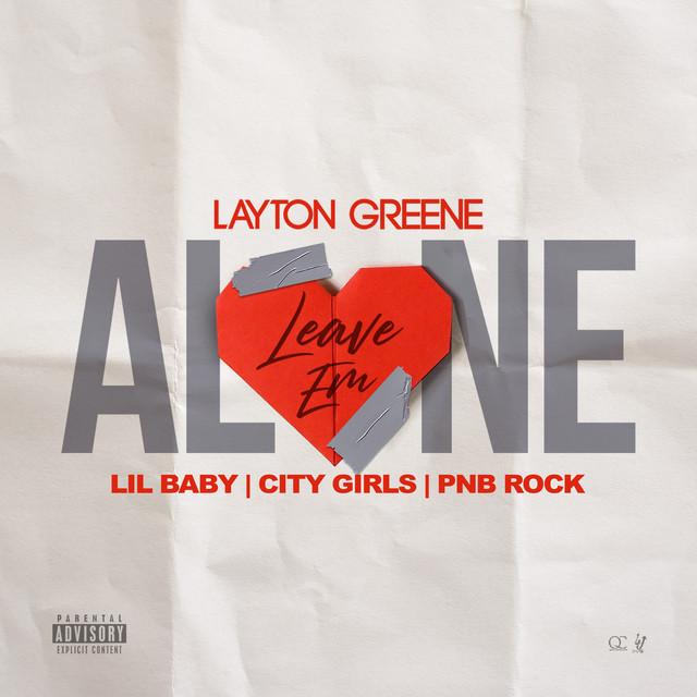 """Résultat de recherche d'images pour """"spotify leave Em Alone (Feat. Lil Baby, City Girls & PnB Rock)"""""""