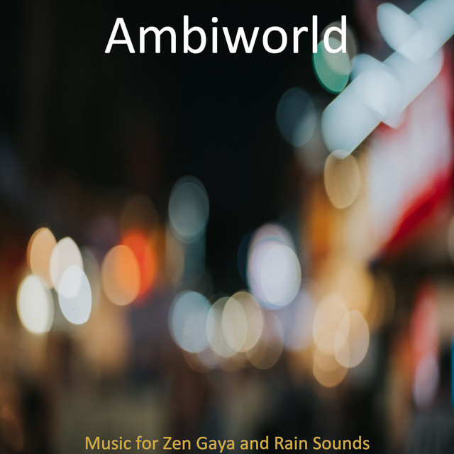 Album cover for Music for Binaural Zen Gaya by Ambiworld