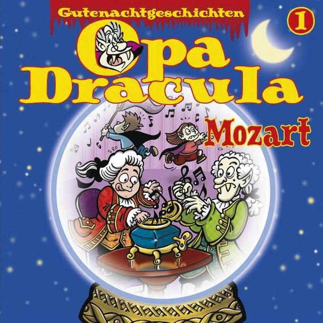 Opa Draculas Gutenachtgeschichten, Folge 1: Mozart Cover