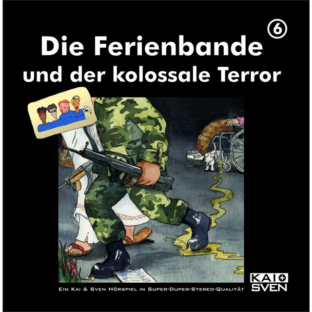 Die Ferienbande und der kolossale Terror - Folge 6 Cover