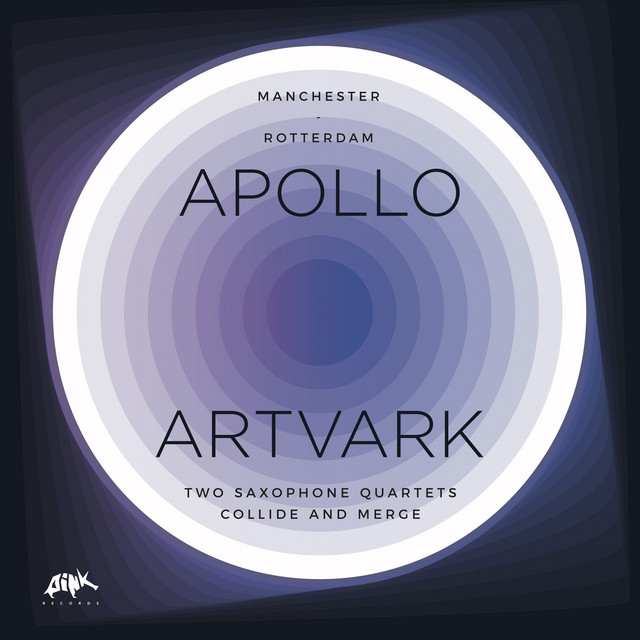 Apollo and Artvark - Two Saxophone Quartets Collide and Merge (Manchester - Rotterdam)