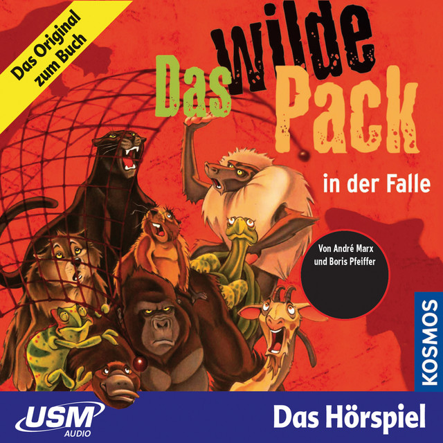 Teil 5: Das Wilde Pack in der Falle Cover