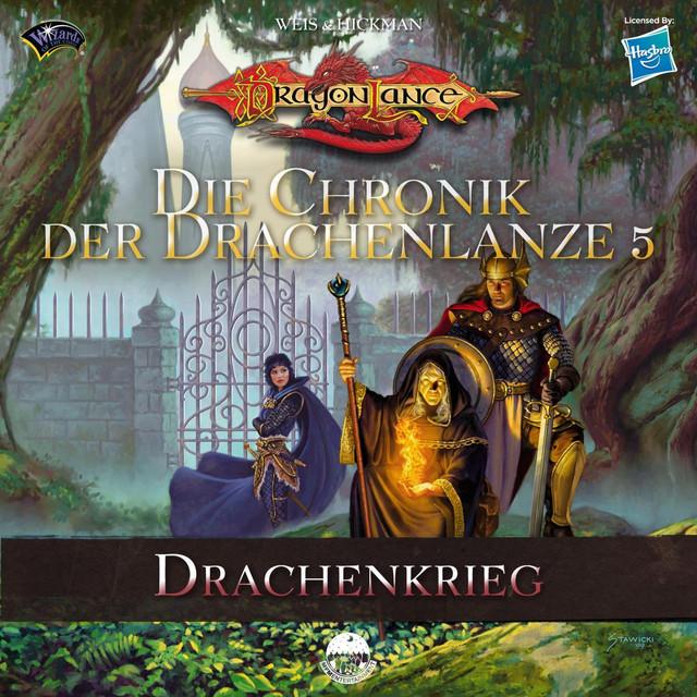 Die Chronik der Drachenlanze 5 - Drachenkrieg Cover