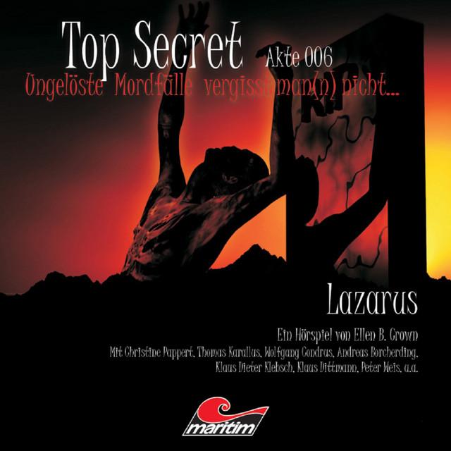 Akte 6: Lazarus Cover