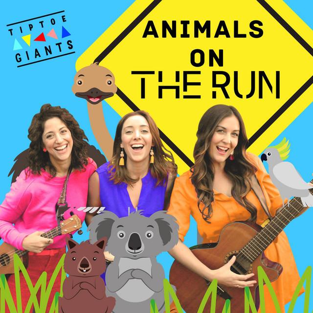 Animals on the Run by Tiptoe Giants