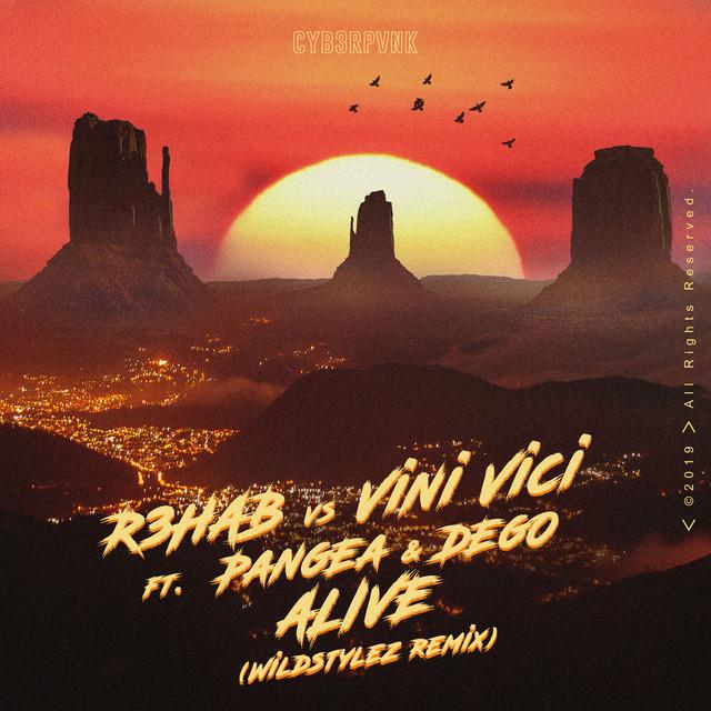 Alive (feat. Pangea & Dego) [Wildstylez Remix]