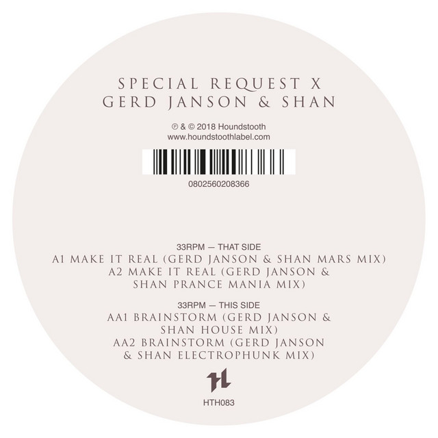 Artwork for Make It Real (Gerd Janson & Shan Mars Mix) by Special Request