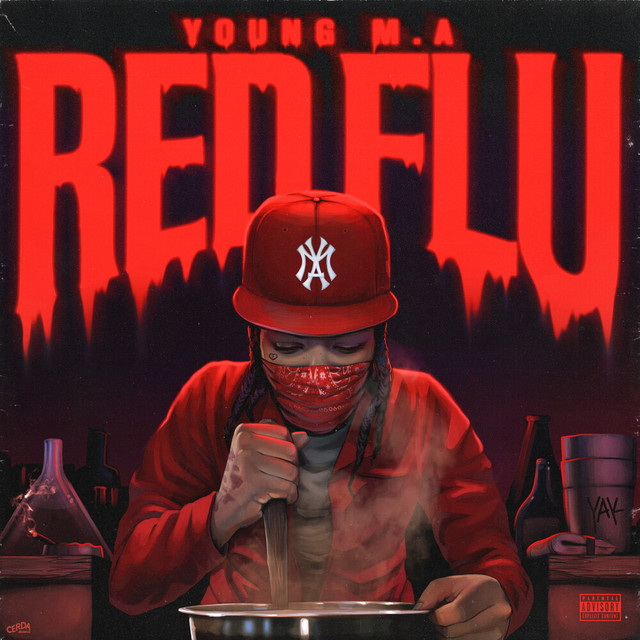 Album cover for Red Flu by Young M.A