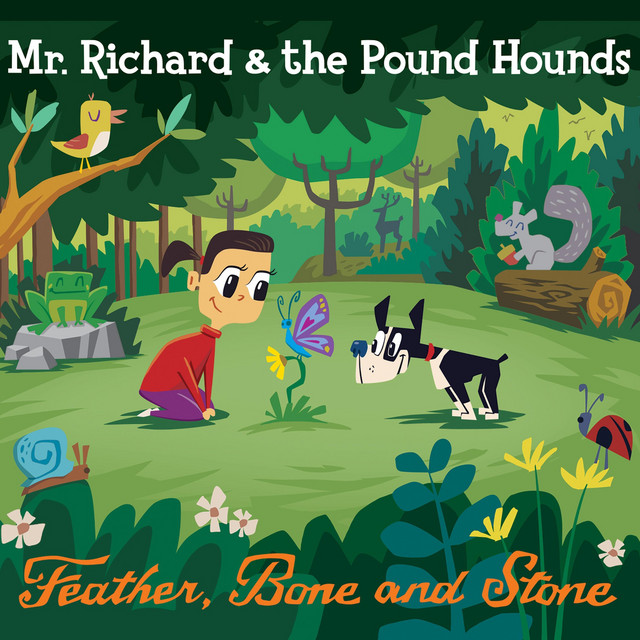 Feather, Bone and Stone by Mr Richard and the Pound Hounds