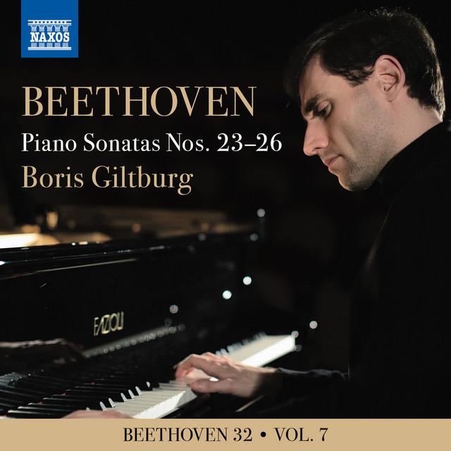Album cover for Beethoven: Piano Sonatas Nos. 23-26 by Ludwig van Beethoven, Boris Giltburg
