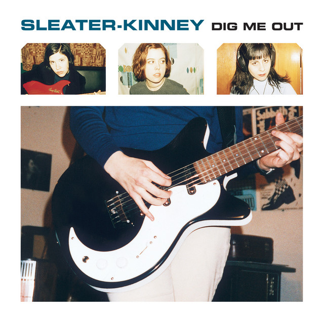 Cover art for Dig Me Out by Sleater-Kinney