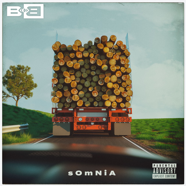 Album cover for Somnia by B.o.B