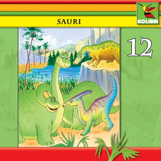 Sauri 12 - Sauri, Dina und ein kleiner Dino