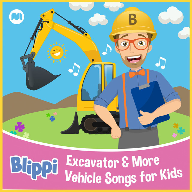 Excavator & More Vehicle Songs for Kids