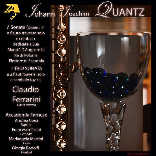 Johann Joachim Quantz: 8 Sonate a flauto traverso solo e cembalo Giedde I.13 dedicate a Sua Maestà D'Augusto III Re di Polonia Elettore di Sassonia