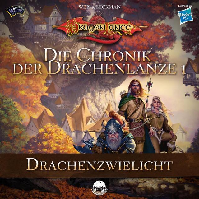 Die Chronik der Drachenlanze 1 - Drachenzwielicht Cover