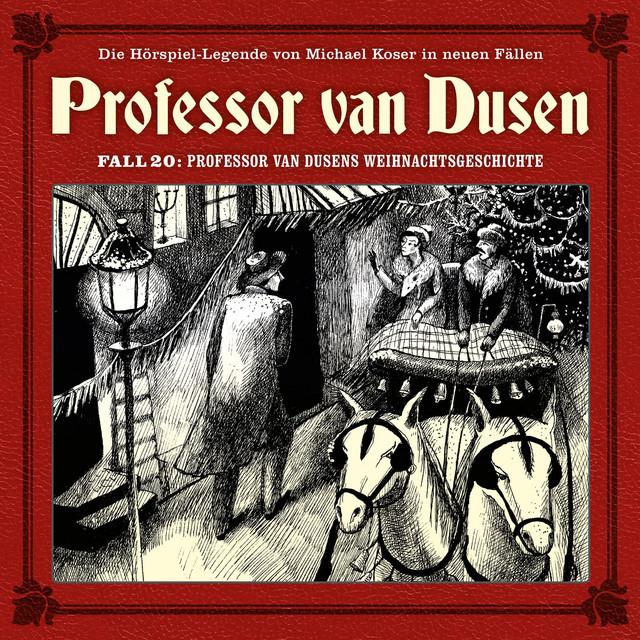 Die neuen Fälle, Fall 20: Professor van Dusens Weihnachtsgeschichte Cover