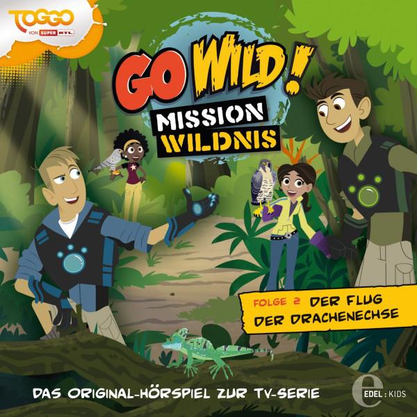 Folge 2: Die Buddelmeister der Savanne  -  Der Flug der Drachenechse (Das Original-Hörspiel zur TV-Serie) Cover