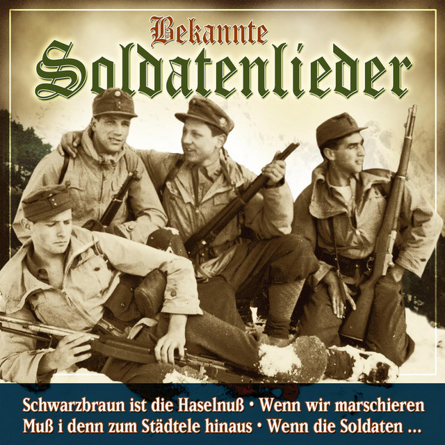 Der Soldatenchor und das grosse Blasorchester des Kameradschaftsbundes Frankfurt