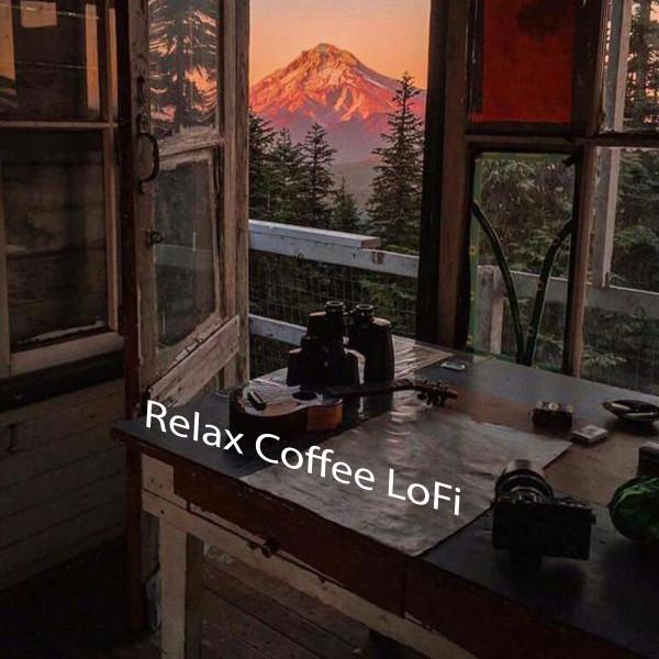 Album cover for Relax Coffee LoFi by Lofi Hip-Hop Beats, Beats De Rap, Olivero Beats