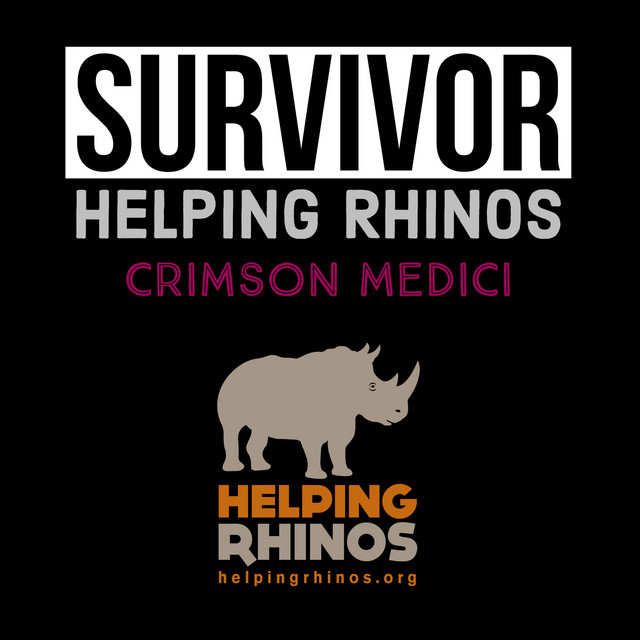 Survivor Helping Rhinos