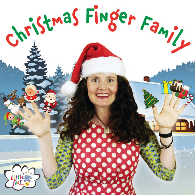 Christmas Finger Family by Little Feet Music