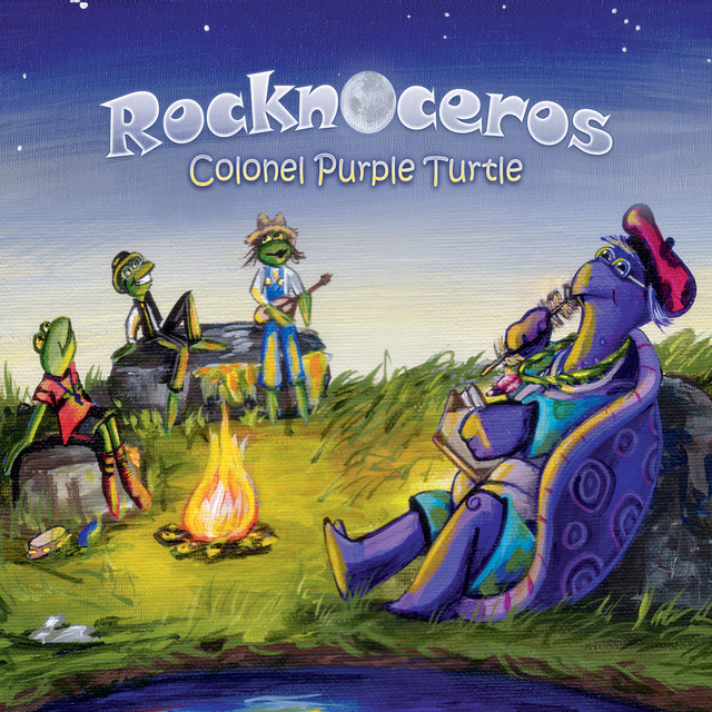 Colonel Purple Turtle by Rocknoceros