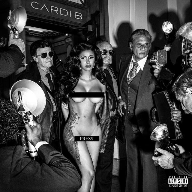 """Résultat de recherche d'images pour """"spotify cardi b press single"""""""