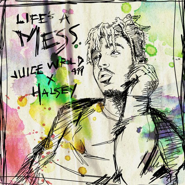 Juice WRLD Life's A Mess (feat. Halsey) acapella