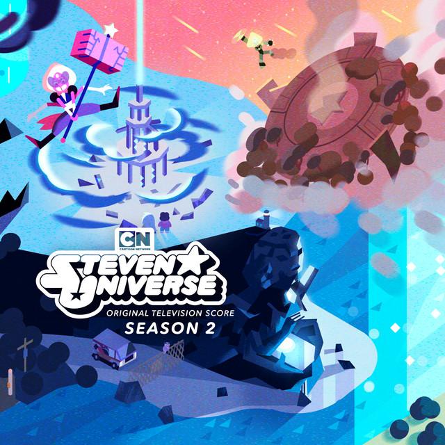 Album cover for Steven Universe: Season 2 (Original Television Score) by Steven Universe, aivi & surasshu
