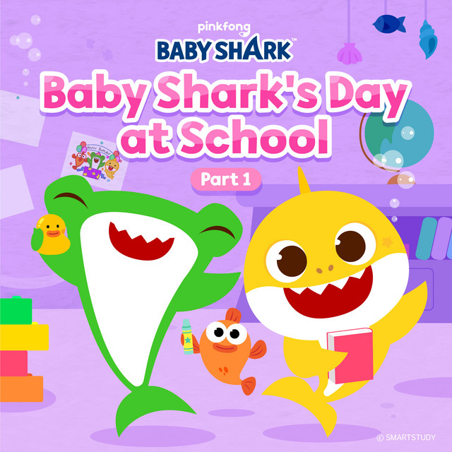 Baby Shark's Day at School (Part 1)
