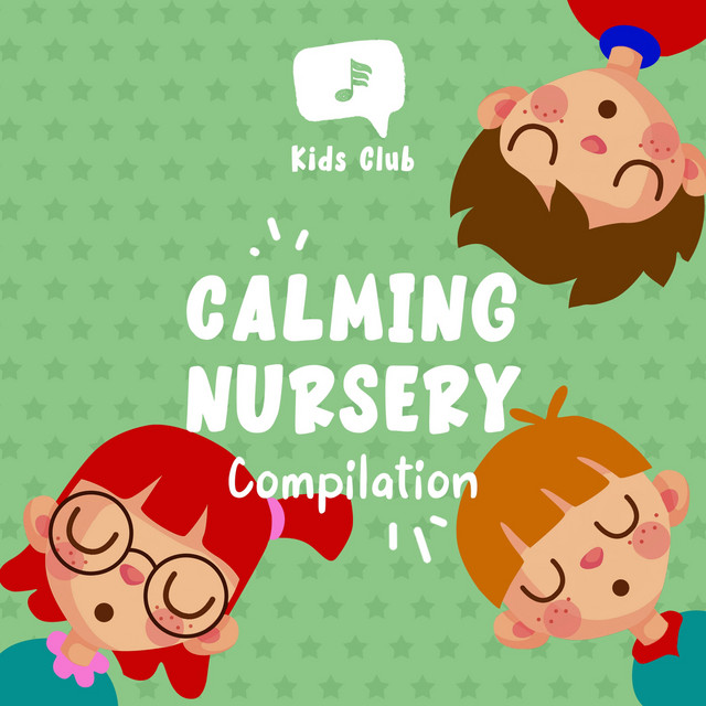 Album cover for Calming Nursery Compilation by Baby Lullaby