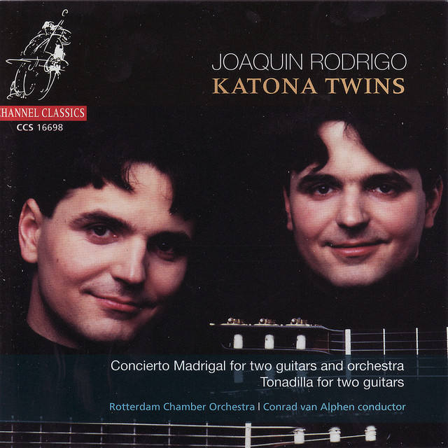 Rodrigo: Concierto Madrigal For Two Guitars and Orchestra / Tonadilla For Two Guitars