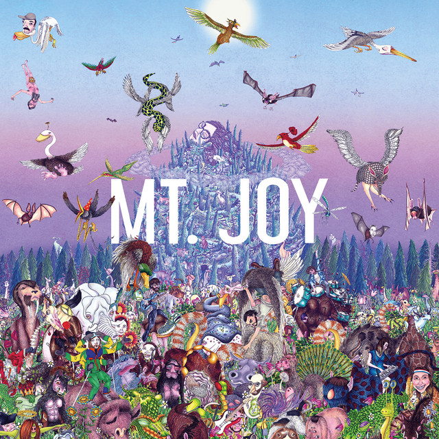 Album cover for Witness by Mt. Joy