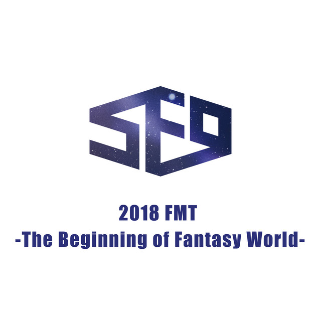 Album cover for Live-2018 FMT -The Beginning of Fantasy World- by SF9