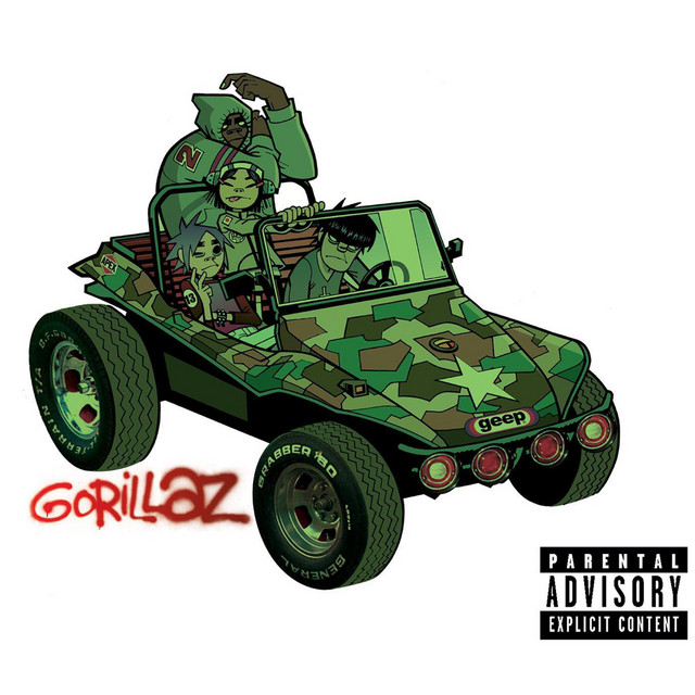 Cover art for Clint Eastwood by Gorillaz