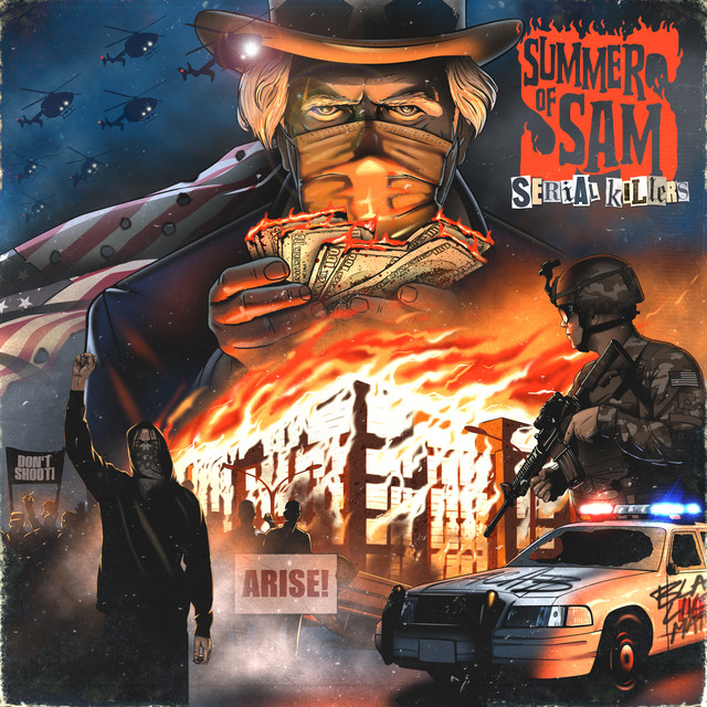 Album cover for Serial Killers Presents: Summer of Sam by Xzibit, B-Real, Demrick